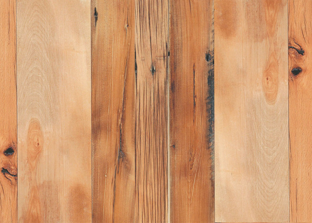 Reclaimed Heart Pine Hardwood Maple
